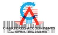 CHARTERED ACCOUNTS Australia Newzealand - Logo
