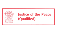 Justice of the Peace - Logo